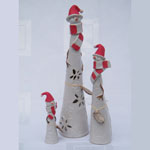 Andrea Cundell Ceramics – Snow People