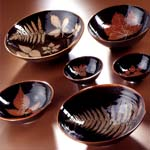 Wold Pottery by Jill Christie – Leaf Bowls