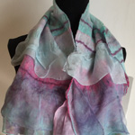 Bags and Bits by BMJ by Margaret Jackson – Pastel felted Scarf