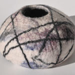 Bags and Bits by BMJ by Margaret Jackson – Felt Bowl